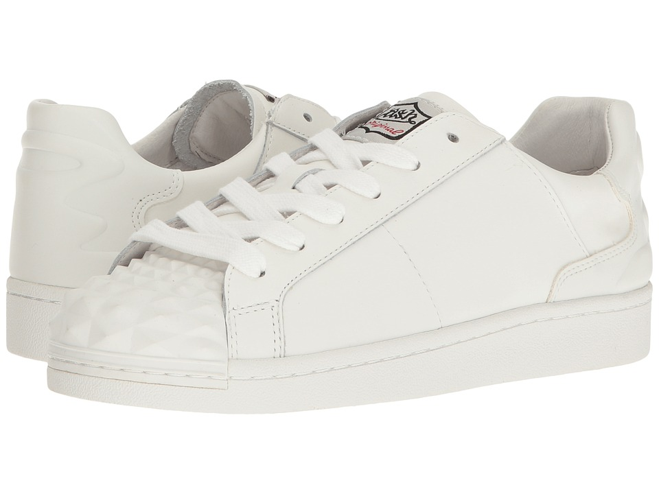 ASH - Crack (White/White Nappa Calf/Nappa) Women's Shoes