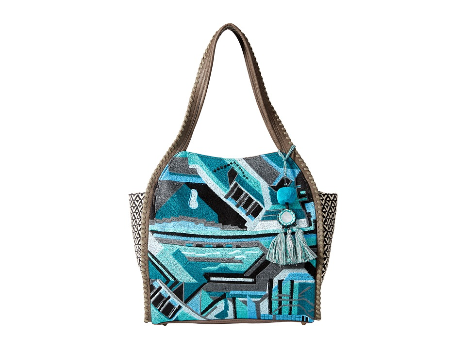 Steven - Londyn Stitch Hobo (Blue) Hobo Handbags