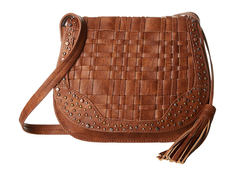 Steven - Pia Saddle Bag (Tan) Bags