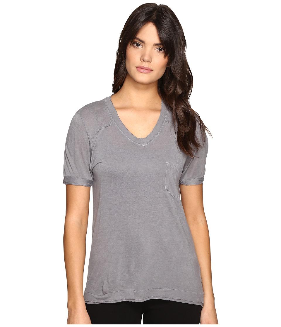 Blank NYC - Loose T-Shirt in Grey Matters (Grey Matters) Women's T Shirt