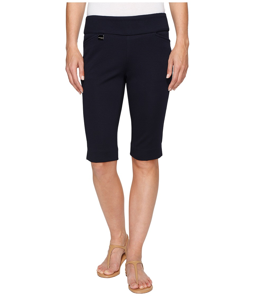 Lisette L Montreal - Pique Knit Bermuda Shorts (Marine Blue) Women's Shorts