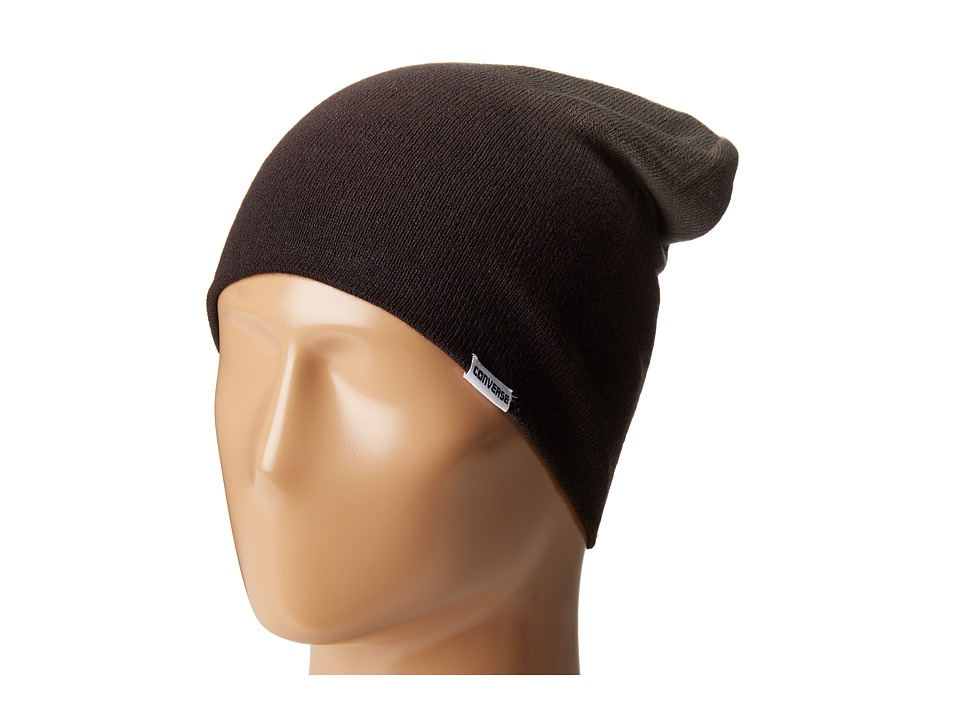 Converse - Gradient Roll Up Beanie (Converse Black) Beanies