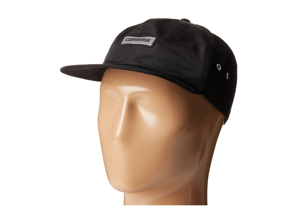 Converse - Crushable Cap (Converse Black) Caps