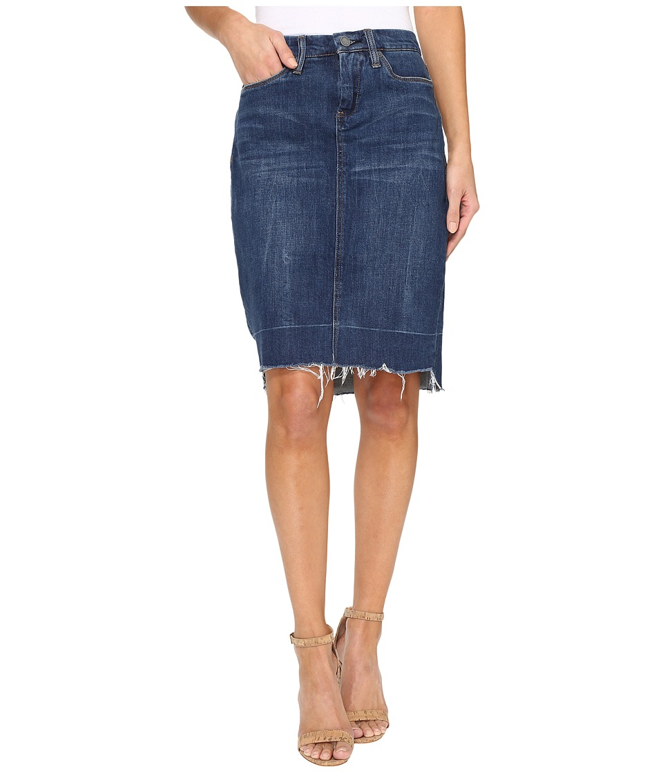 Blank NYC - Raw Hem Denim Skirt in Amateur Hour (Amateur Hour) Women's Skirt