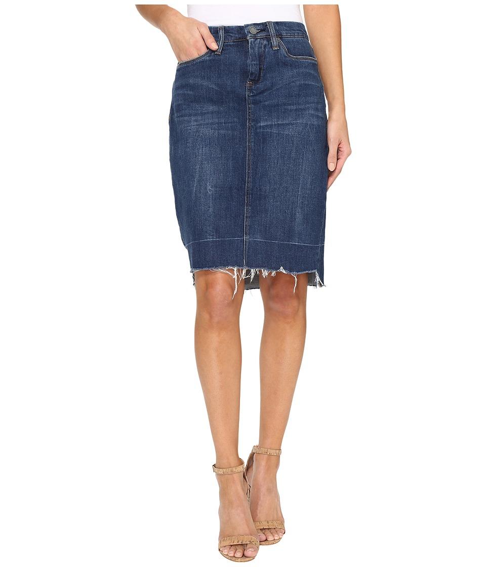 Blank NYC - Raw Hem Denim Skirt in Amateur Hour (Amateur Hour) Women's Skirt