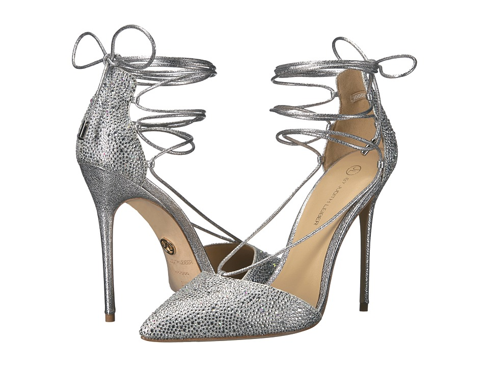 JL by Judith Leiber - Cleopatra (Silver) High Heels