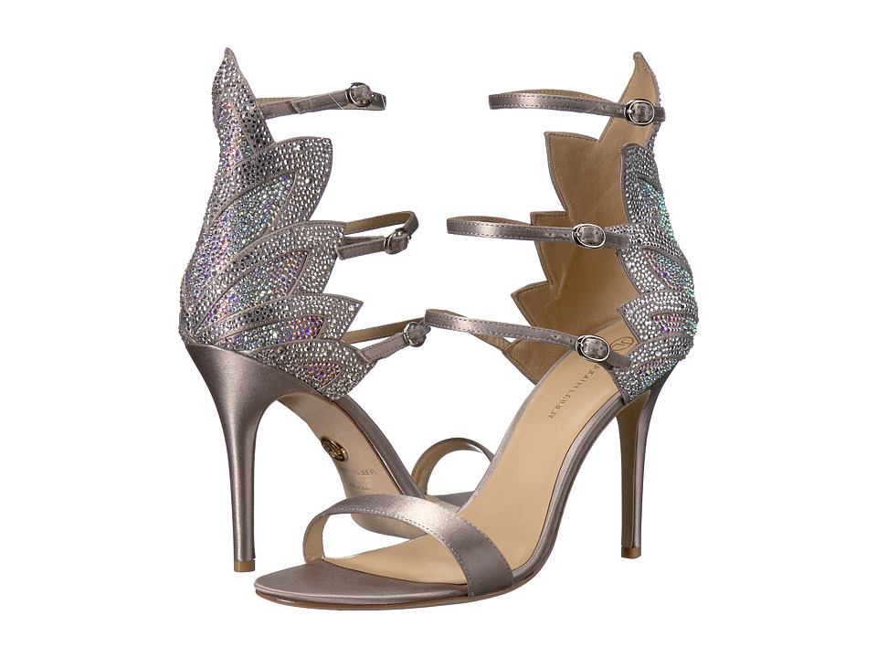 JL by Judith Leiber - Marry (Silver) High Heels