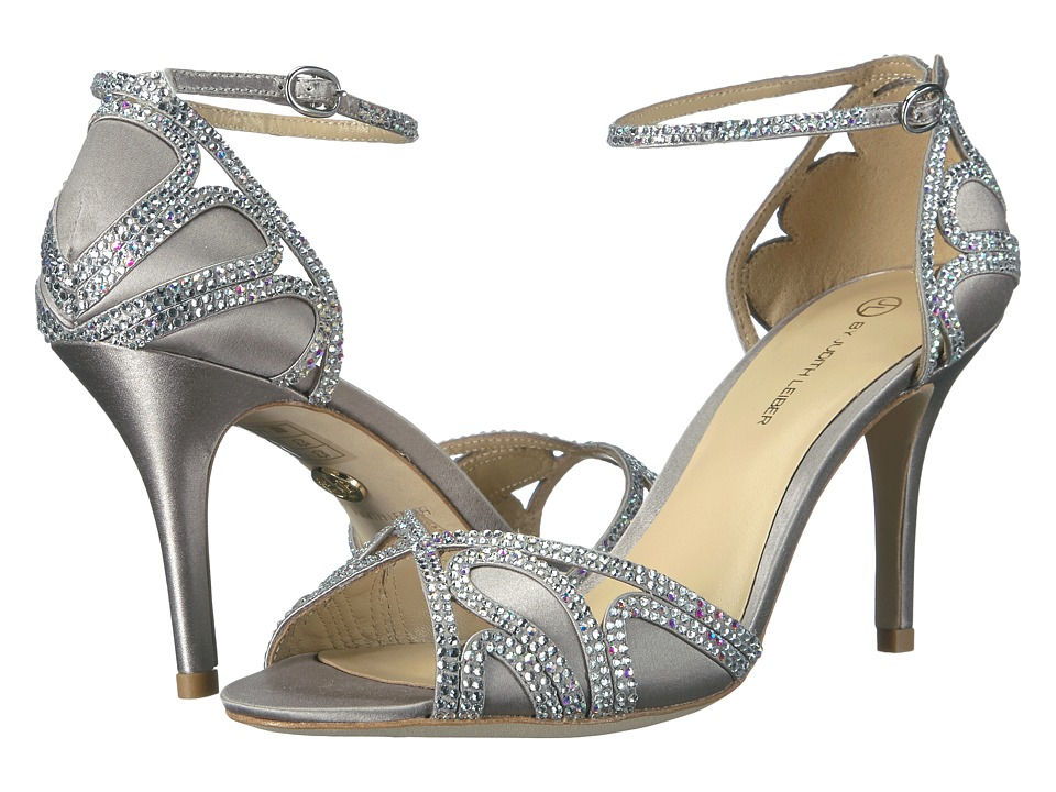 JL by Judith Leiber - Magna (Silver) High Heels