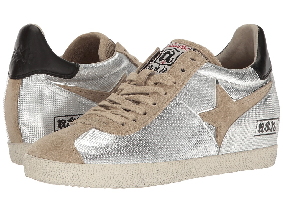ASH - Guepard Ter (Seta/Silver) Women's Shoes