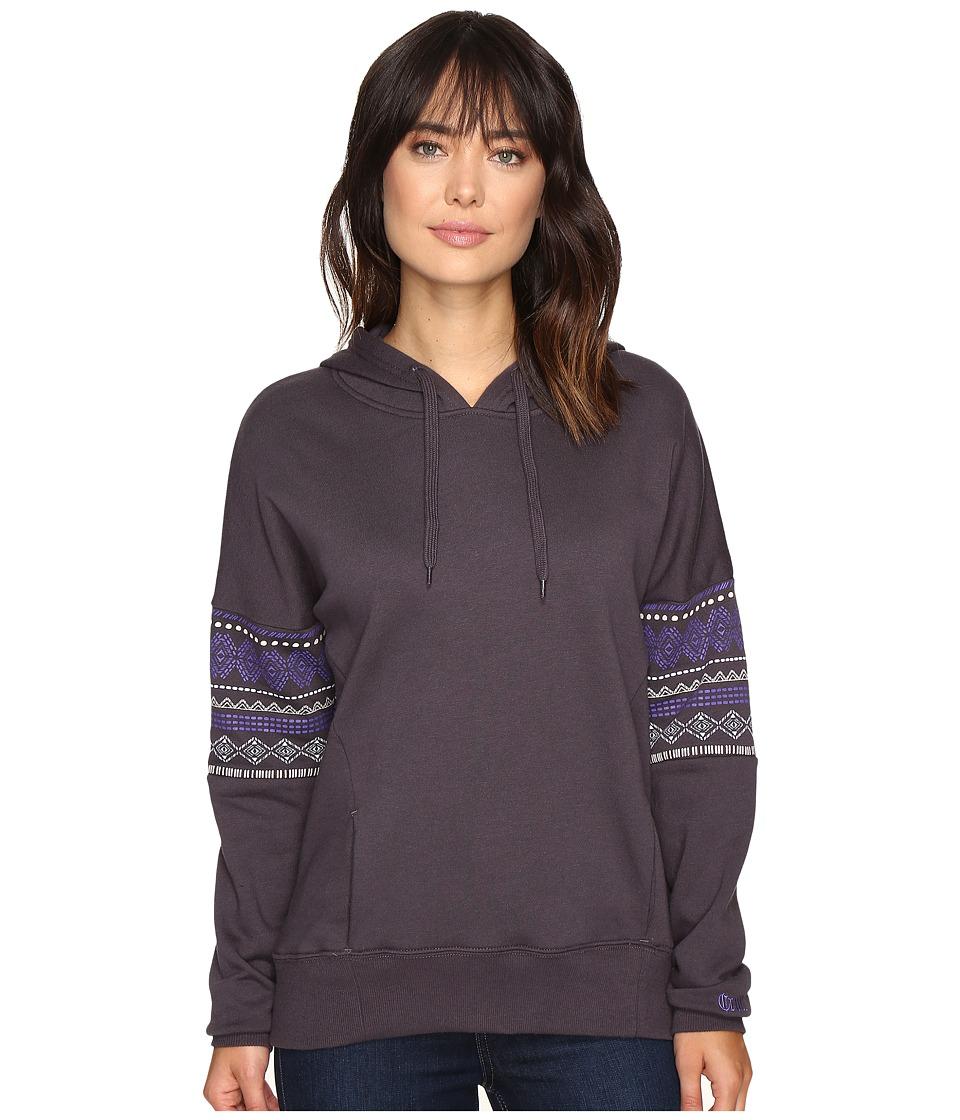 Cruel - French Terry Drop Shoulder Hoodie (Charcoal) Women's Sweatshirt