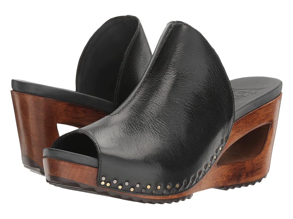 Dansko Sage (Black Tumbled Calf) Women