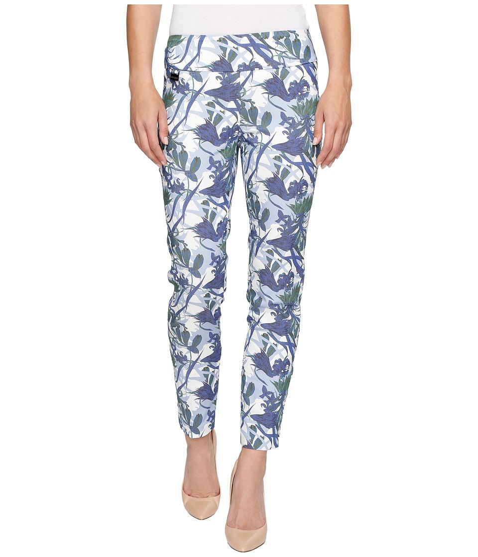 Lisette L Montreal - Blue Bell Floral Ankle Pants (Cobalt) Women's Casual Pants