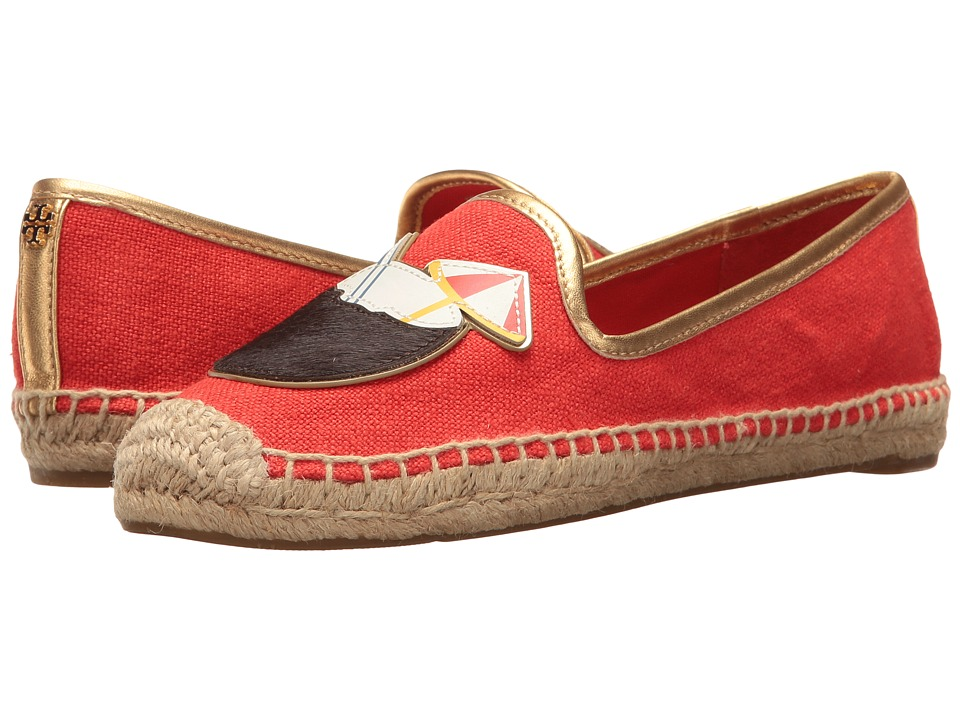 Tory Burch - Coco Espadrille (Samba/Gold) Women's Shoes