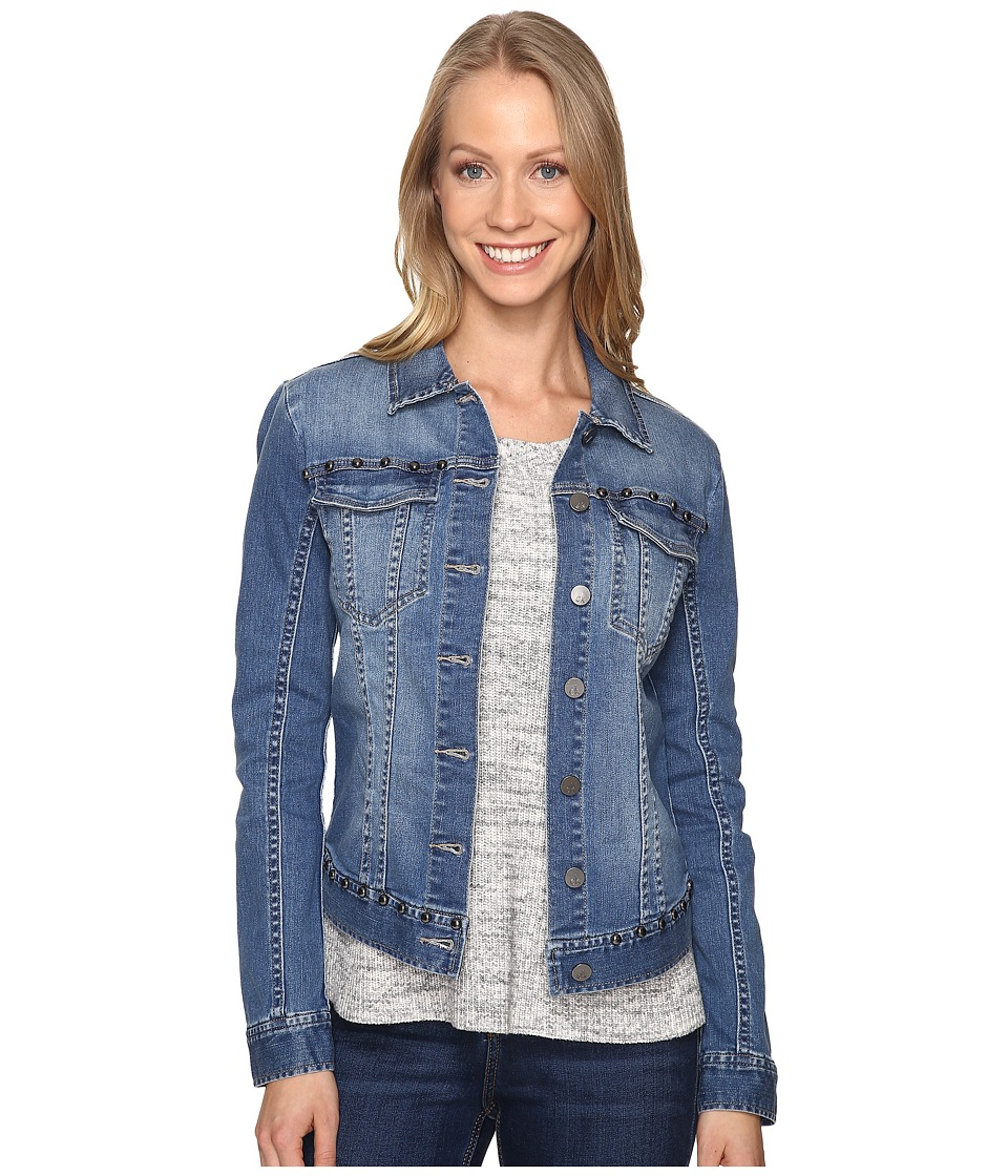 Calvin Klein Jeans - Studded Trucker Jacket (Trix) Women's Coat