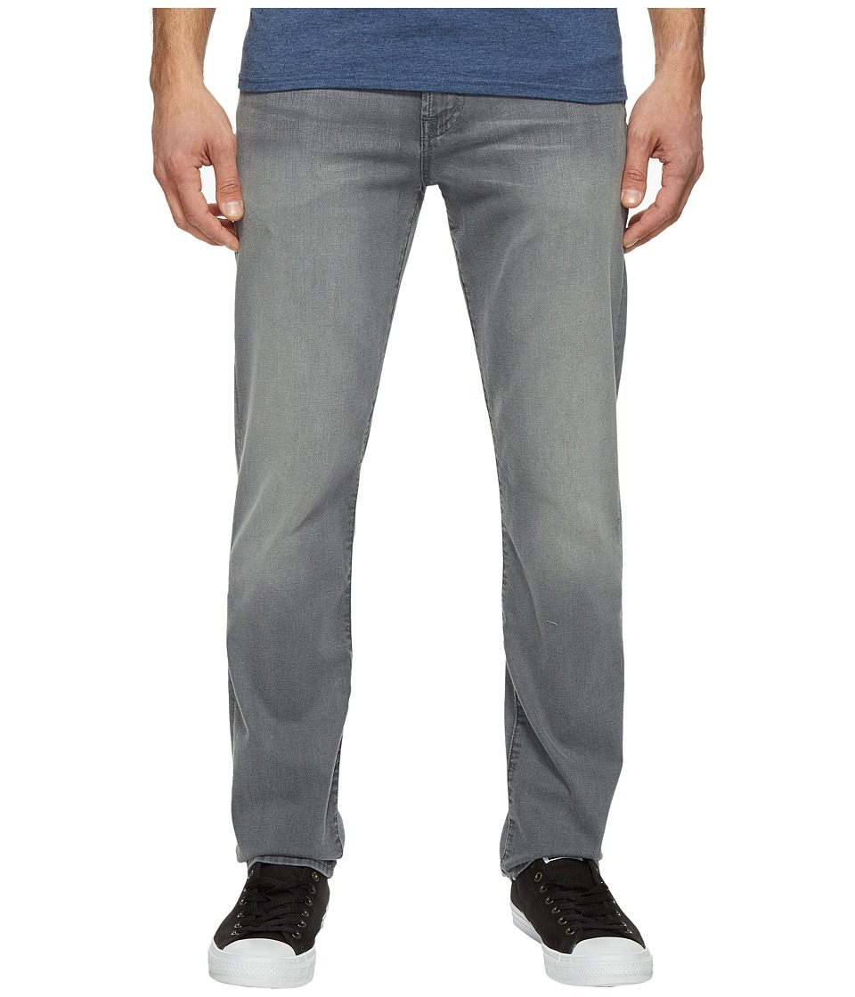 7 For All Mankind Slimmy in Grey Shadow (Grey Shadow) Men