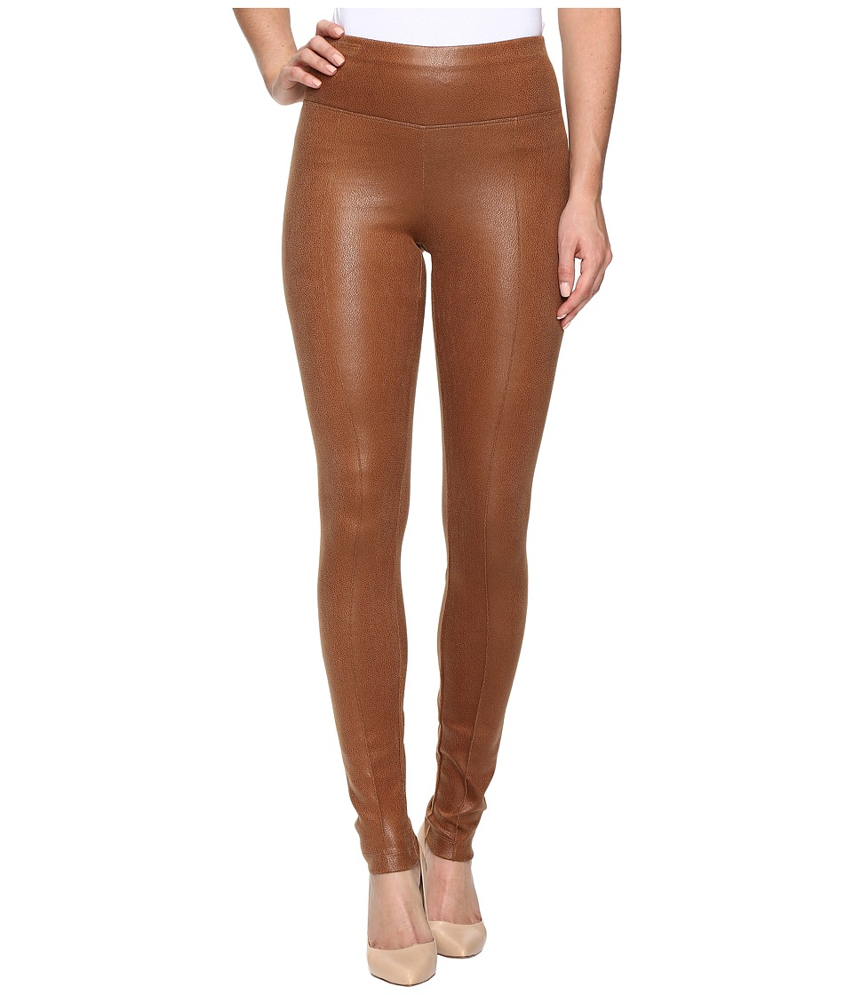 Hale Bob - Coated Ultra Suede Leggings (Cognac) Women's Casual Pants