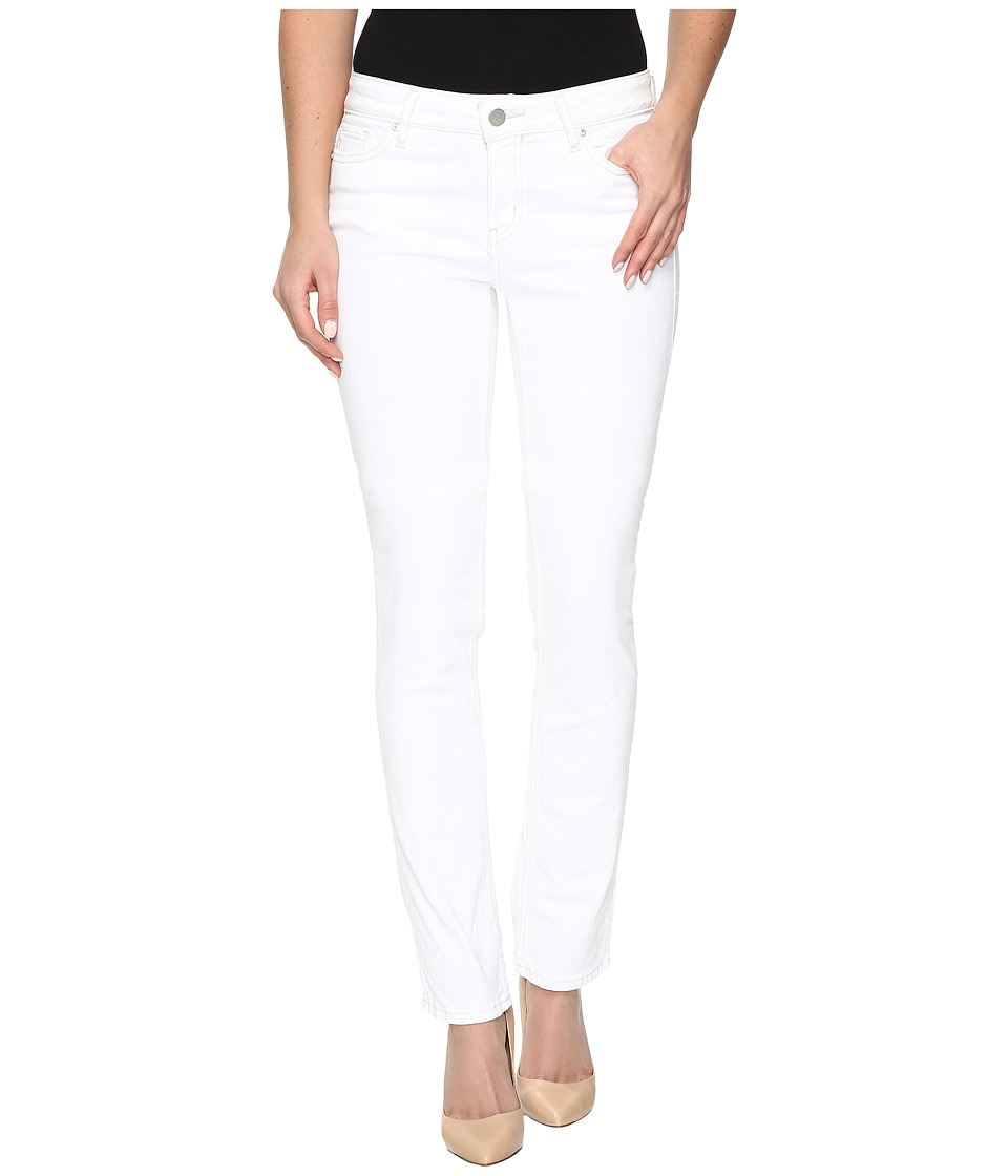 Calvin Klein Jeans - Straight Jeans in White Wash (White Wash) Women's Jeans