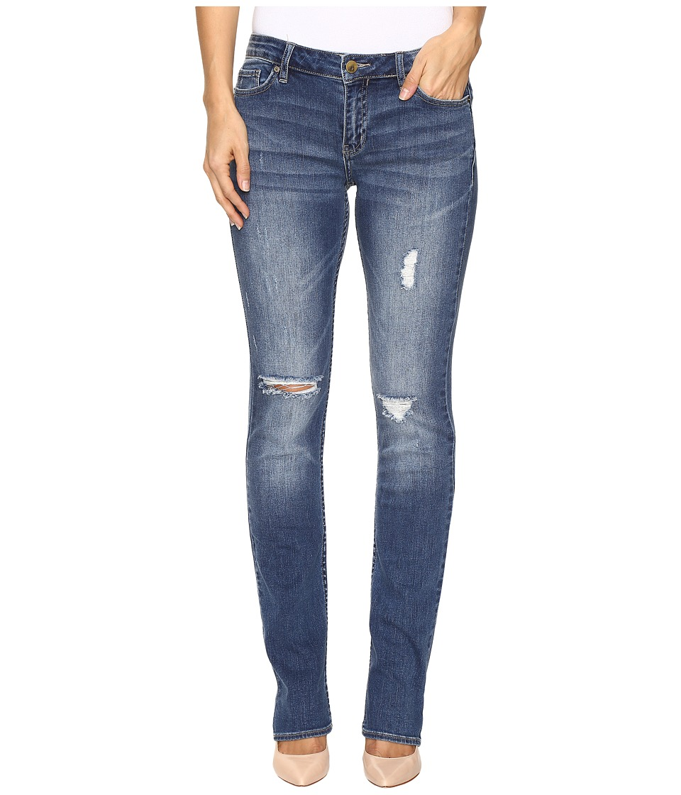 Calvin Klein Jeans - Straight Jeans in Halsey Wash (Halsey Wash) Women's Jeans
