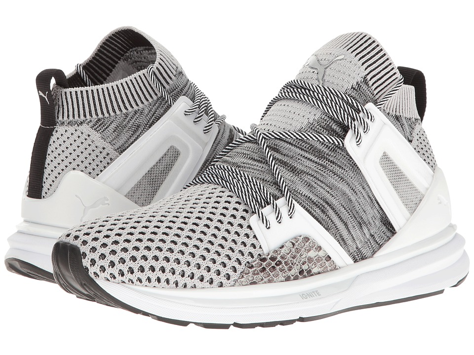 PUMA - B.O.G Limitless Hi Animal (Glacier Gray/Puma White) Women's Shoes