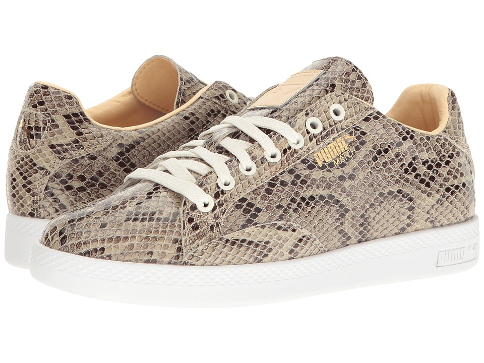 PUMA - Match Animal (Star White/Natural Vachetta) Women's Shoes
