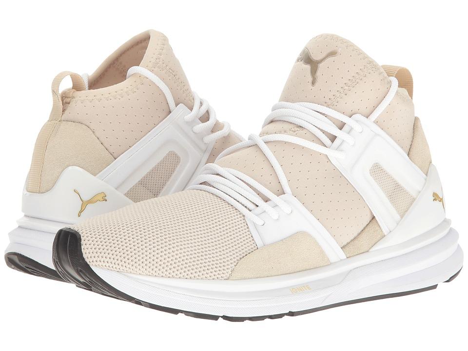 PUMA - B.O.G Limitless Hi Denim (Oatmeal/Puma White) Women's Shoes