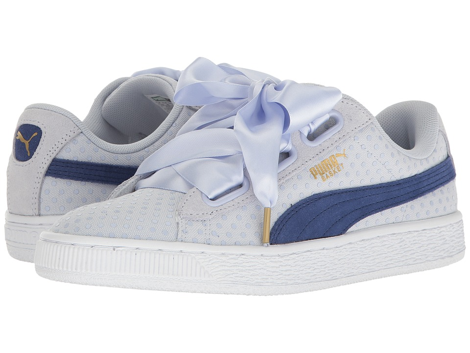 PUMA - Basket Heart Denim (Halogen Blue/Twlight Blue) Women's Shoes