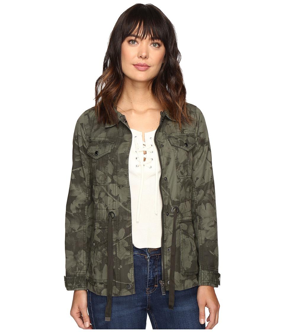 Calvin Klein Jeans - Printed Utility Field Outerwear (Peat) Women's Coat