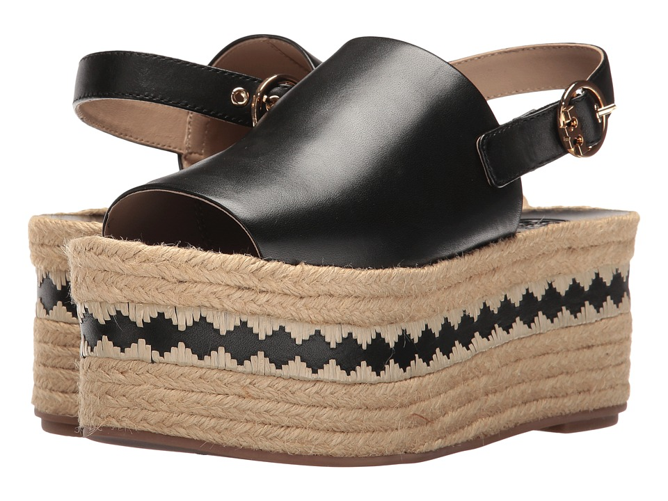 Tory Burch - Dandy Espadrille Sandal (Black) Women's Sandals