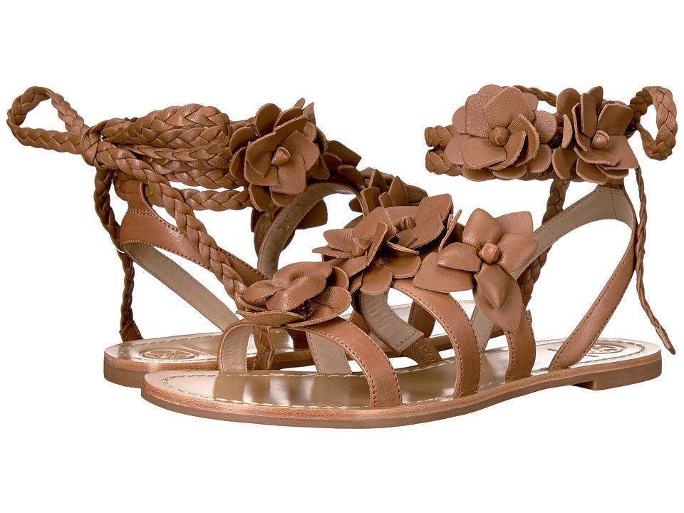 Tory Burch - Blossom Gladiator Sandal (Spark Gold) Women's Sandals