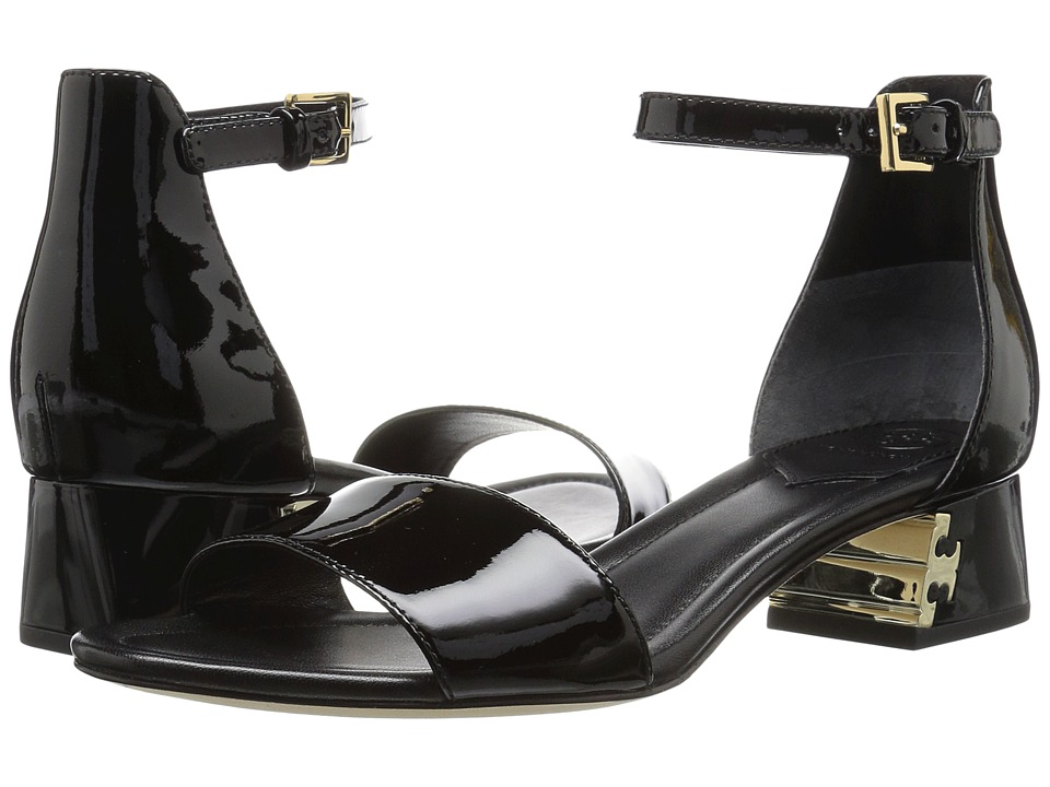 Tory Burch - Finley 40mm Sandal (Black) Women's Sandals