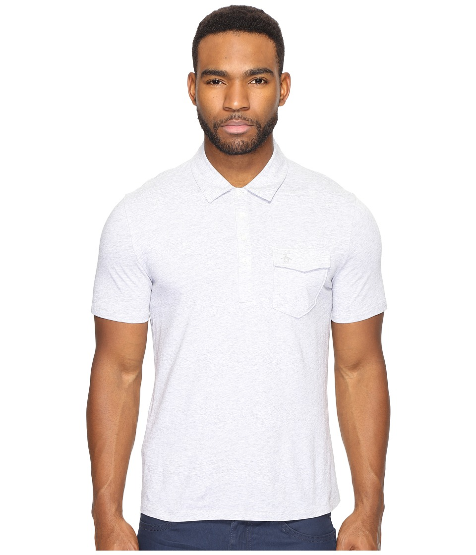 Original Penguin - Short Sleeve Jack 2.0 (Mirage Gray) Men's Clothing