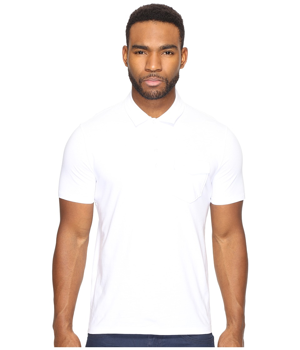 Original Penguin - Short Sleeve Jack 2.0 (Bright White) Men's Clothing