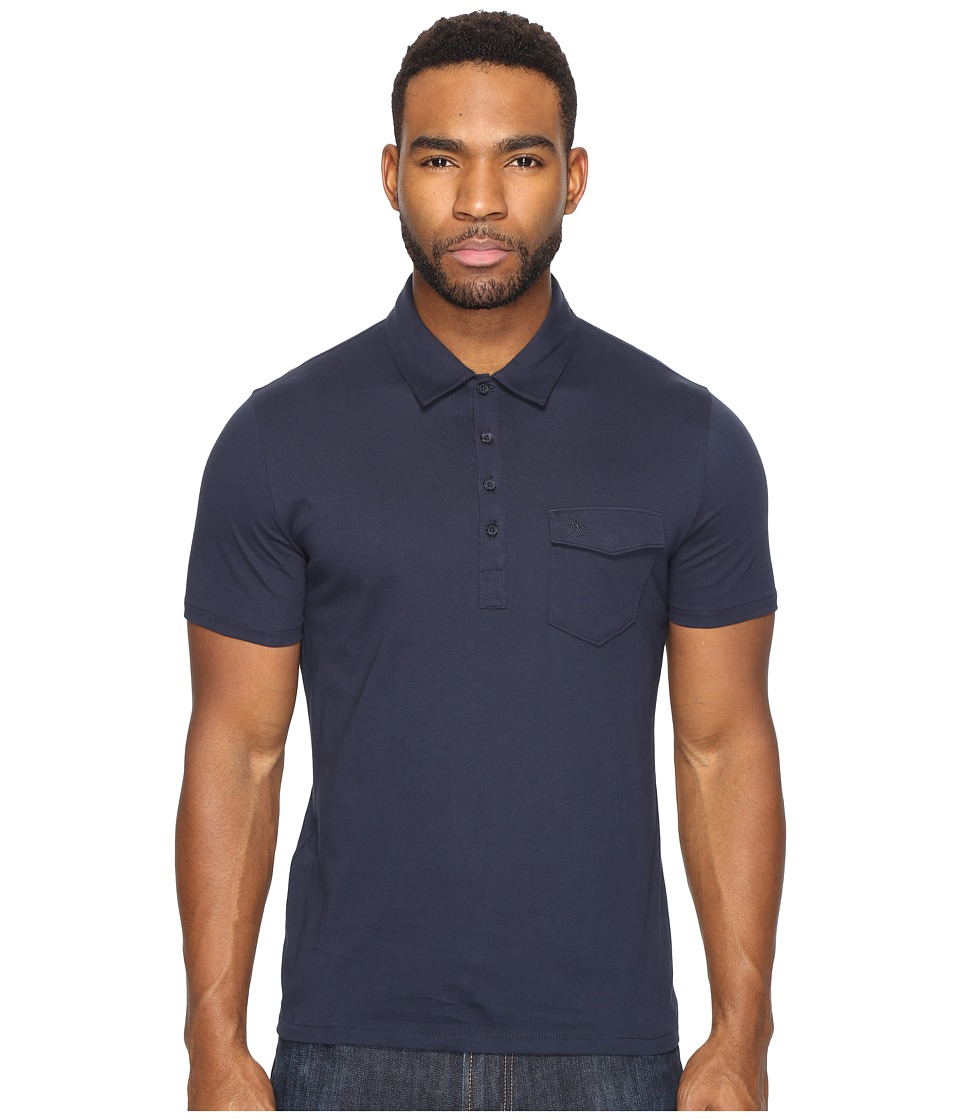 Original Penguin - Short Sleeve Jack 2.0 (Dark Sapphire) Men's Clothing