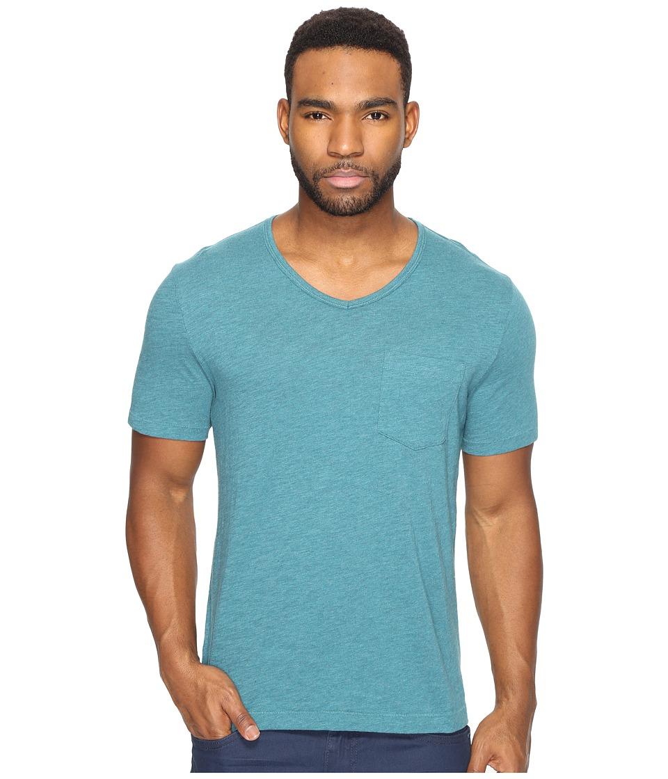 Original Penguin - Bing V-Neck (Deep Lake) Men's T Shirt