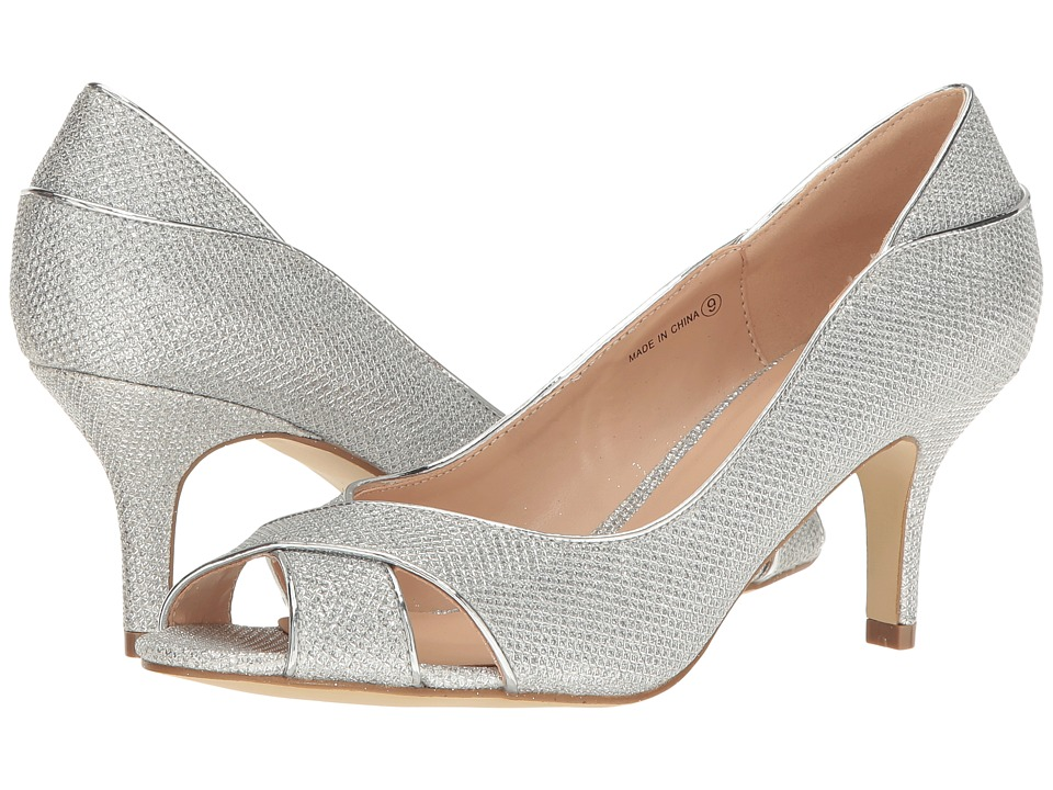 Paradox London Pink - Adele (Silver) High Heels