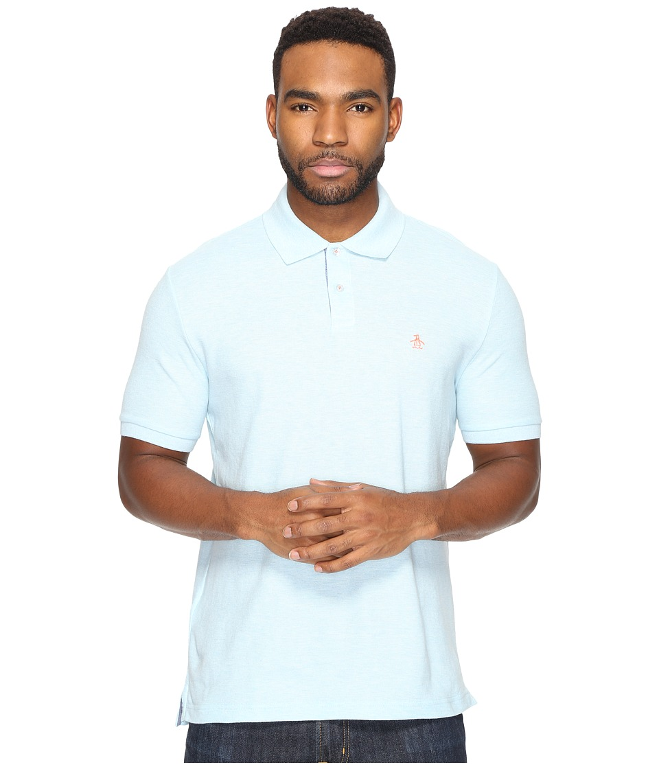 Original Penguin - Daddy-O Polo (Ballad Blue) Men's Short Sleeve Pullover