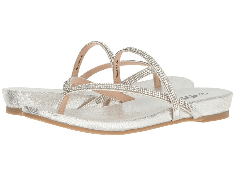 Paradox London Pink - Athena (Silver) Women's Sandals