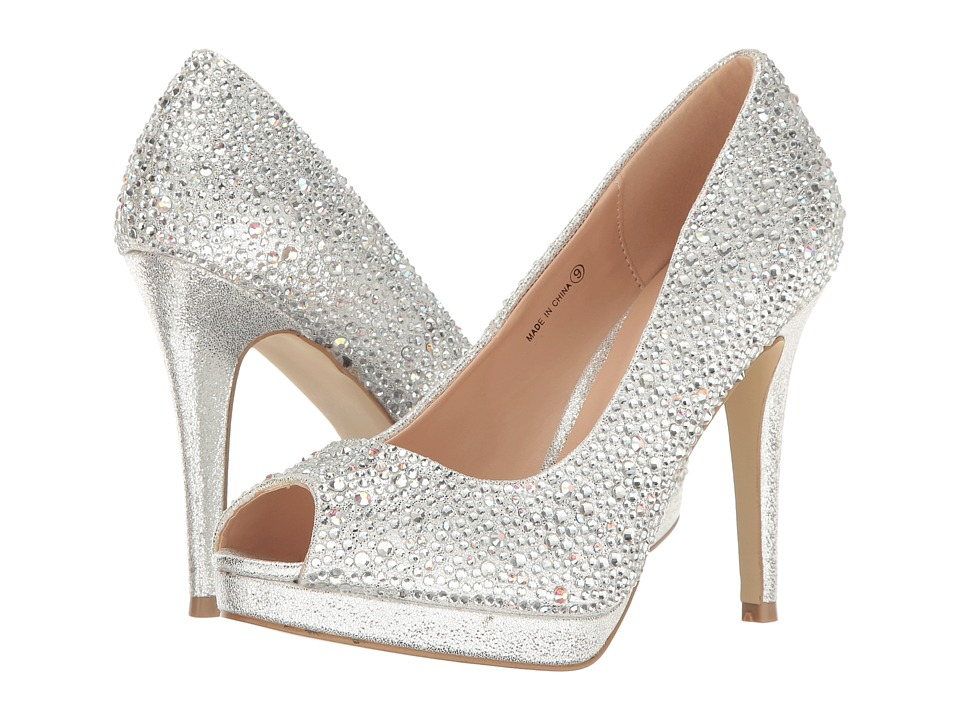 Paradox London Pink Cassidy (Silver) High Heels