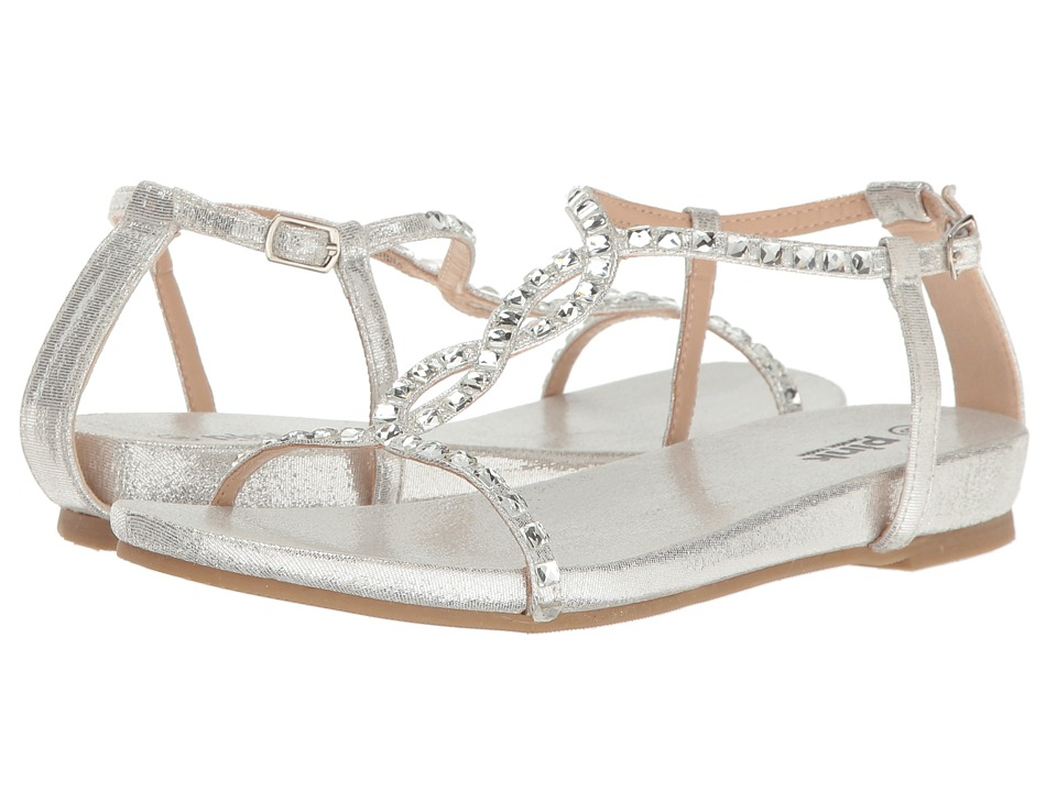 Paradox London Pink - Kaylee (Silver) Women's Sandals