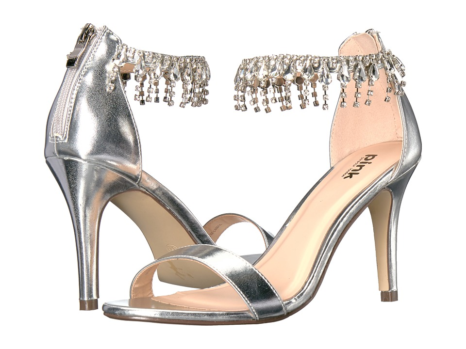 Paradox London Pink - Tamara (Silver) High Heels
