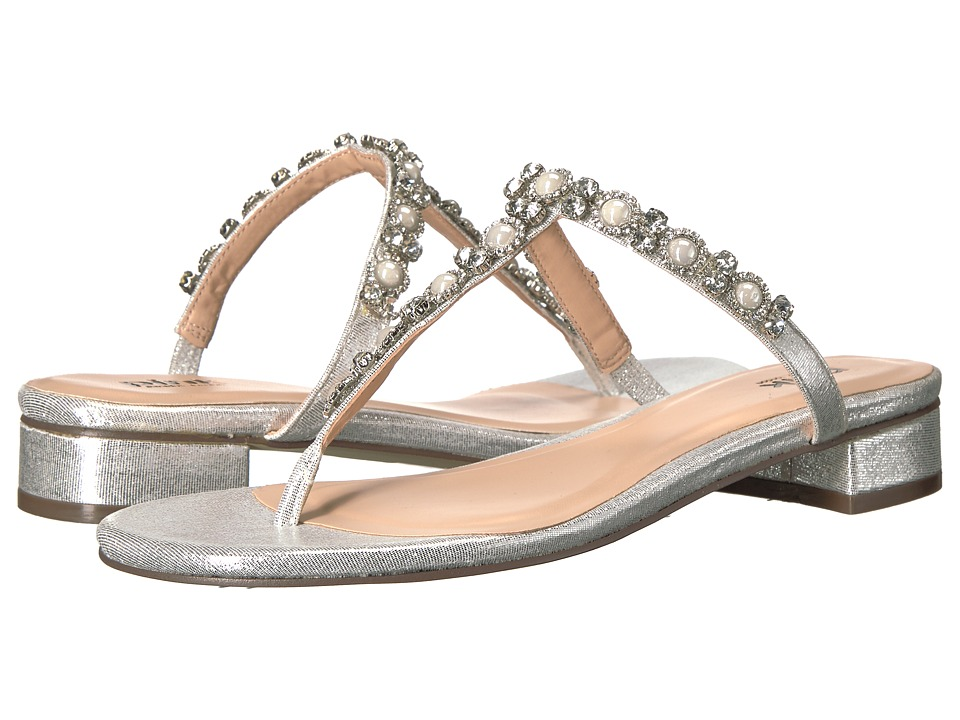 Paradox London Pink - Wave (Silver) Women's Sandals