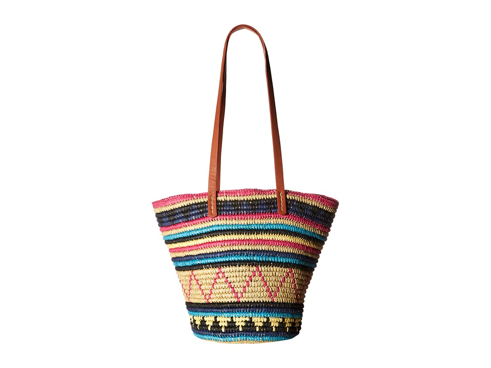 San Diego Hat Company - BSB1701 Paper Crochet Bag (Multi) Handbags