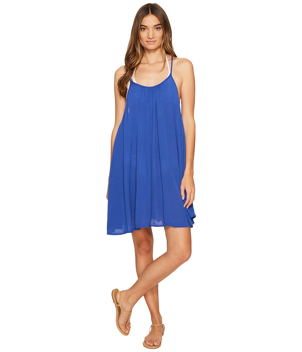 Roxy - Windy Fly Away Dress Cover-Up (Deep Ultramarine 3) Women's Swimwear