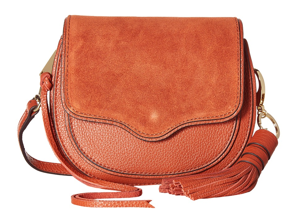 Rebecca Minkoff - Mini Suki Crossbody (Baked Clay) Cross Body Handbags