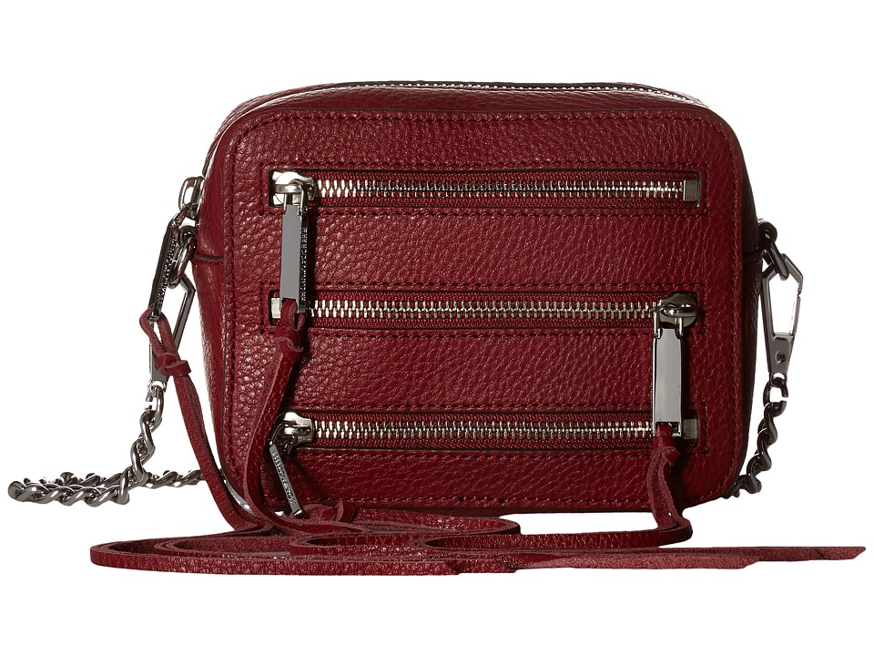 Rebecca Minkoff - 4 Zip Moto Camera Bag (Tawny Port) Bags