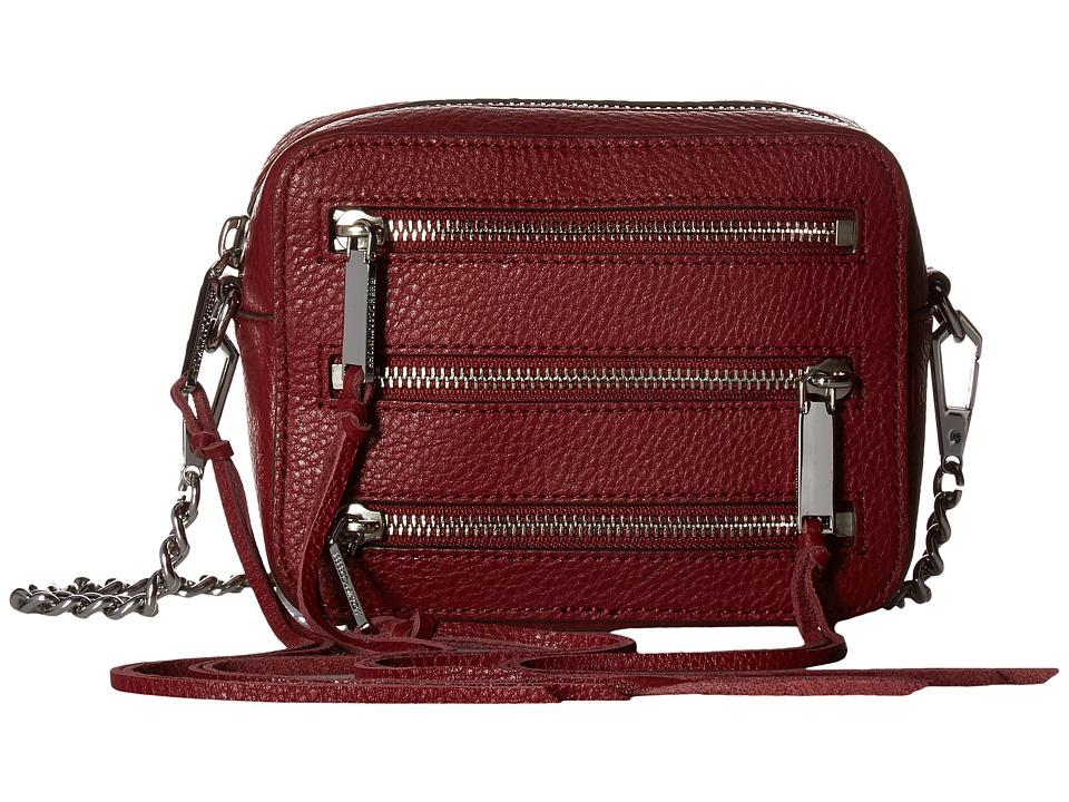 Rebecca Minkoff - 4 Zip Moto Camera Bag (Tawny Port) Bags
