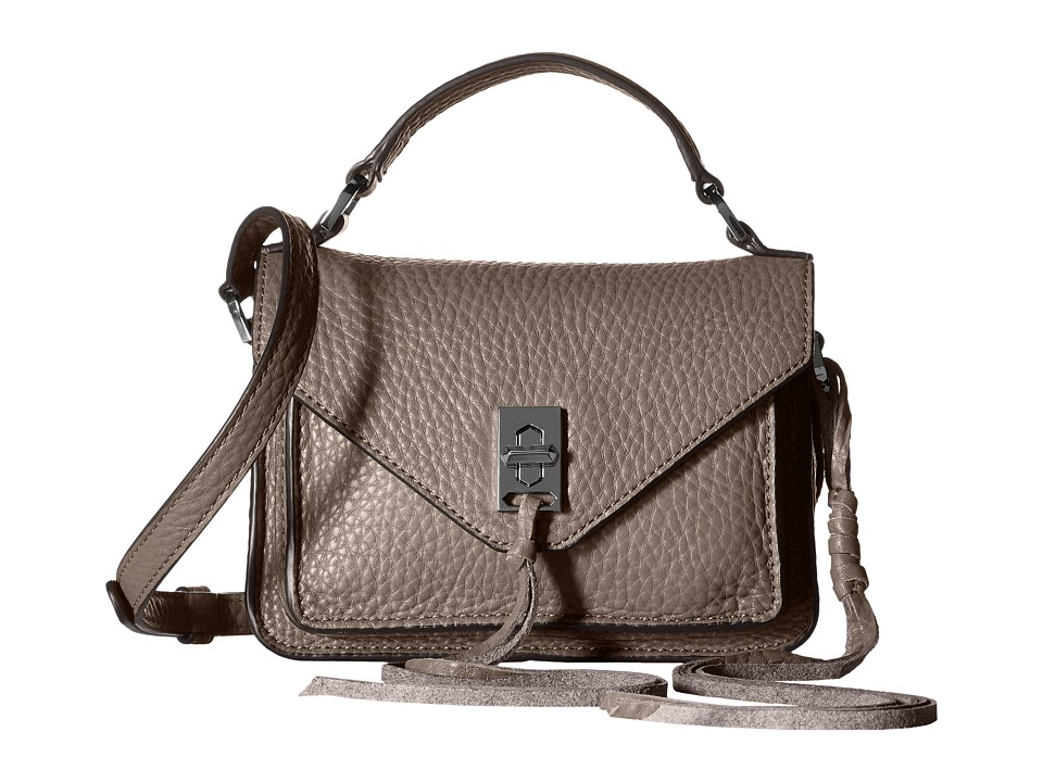 Rebecca Minkoff - Mini Darren Messenger (Graphite) Messenger Bags