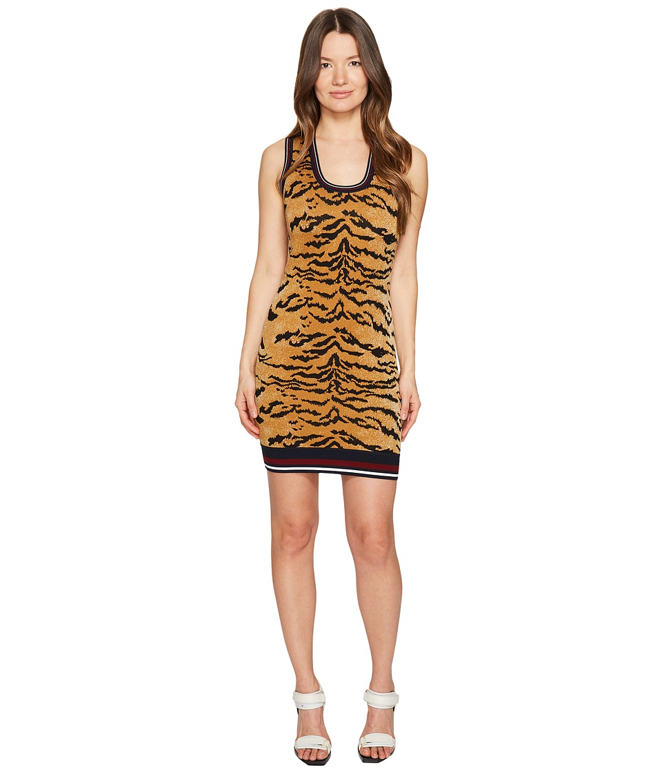 DSQUARED2 - Animal Tank Dress (Tiger Print) Women's Dress