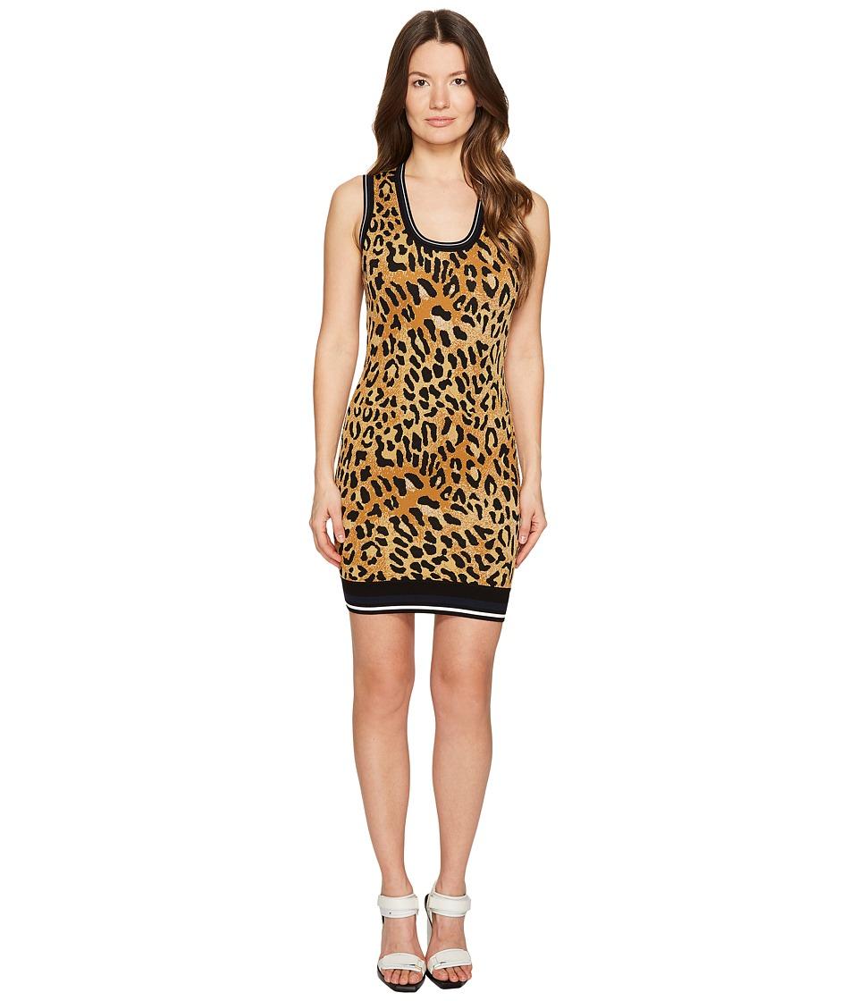 DSQUARED2 - Animal Tank Dress (Cheetah Print) Women's Dress
