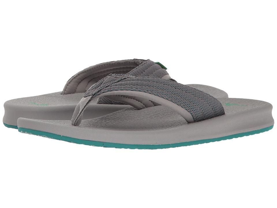 Sanuk - Brumeister (Charcoal/Grey/Teal) Men's Sandals